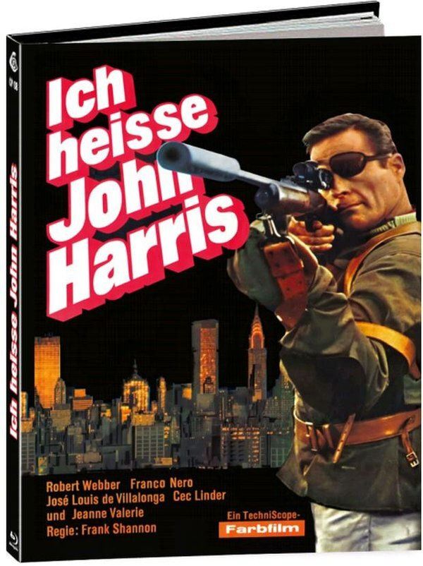 Ich heisse John Harris (1966) (Cover C, Limited Edition, Mediabook)