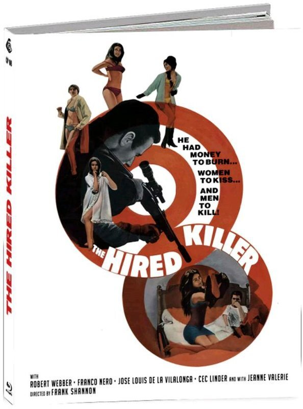 The Hired Killer (1966) (Cover D, Limited Edition, Mediabook)