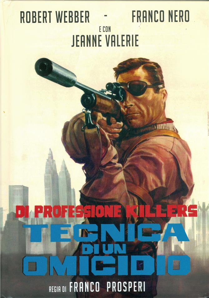 Tecnica di un omicidio (1966) (Cover A, Limited Edition, Mediabook)
