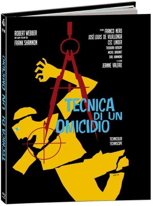 Tecnica di un omicidio (1966) (Cover B, Limited Edition, Mediabook)