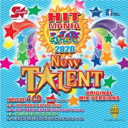 Hit Mania New Talent Estate 2020 (4 CDs)