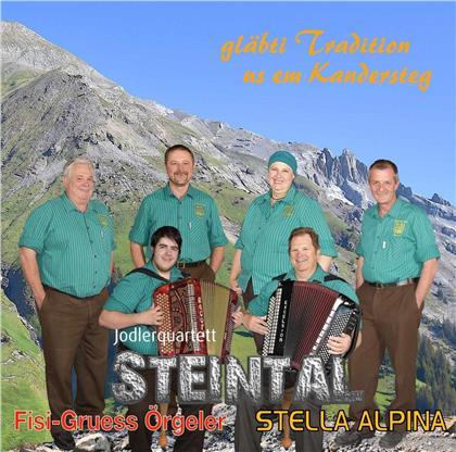 Jodlerquartett Steintal - gläbti Tradition us em Kandersteg
