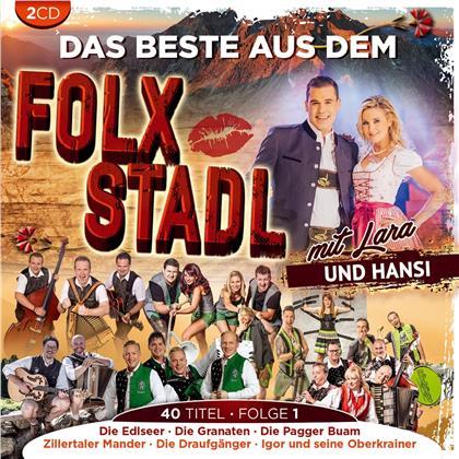Das Beste aus dem Folx Stadl Folge 1 (2 CDs)