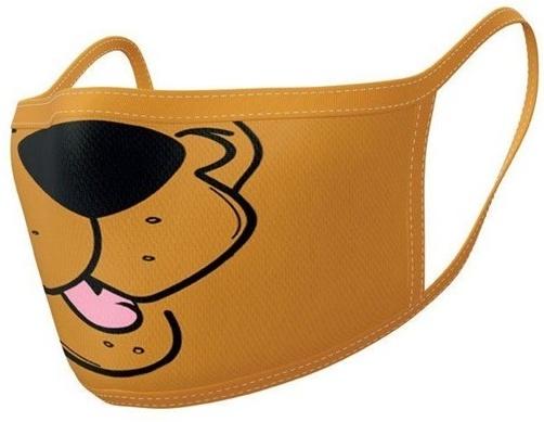 Mundschutzmaske Scooby Doo - 2 Stück