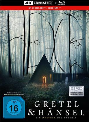 Gretel & Hänsel - Ein Märchen neu erzählt (2020) (Collector's Edition Limitata, Mediabook, 4K Ultra HD + Blu-ray)