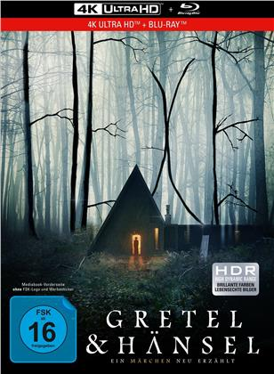 Gretel & Hänsel - Ein Märchen neu erzählt (2020) (Limited Collector's Edition, Mediabook, 4K Ultra HD + Blu-ray)
