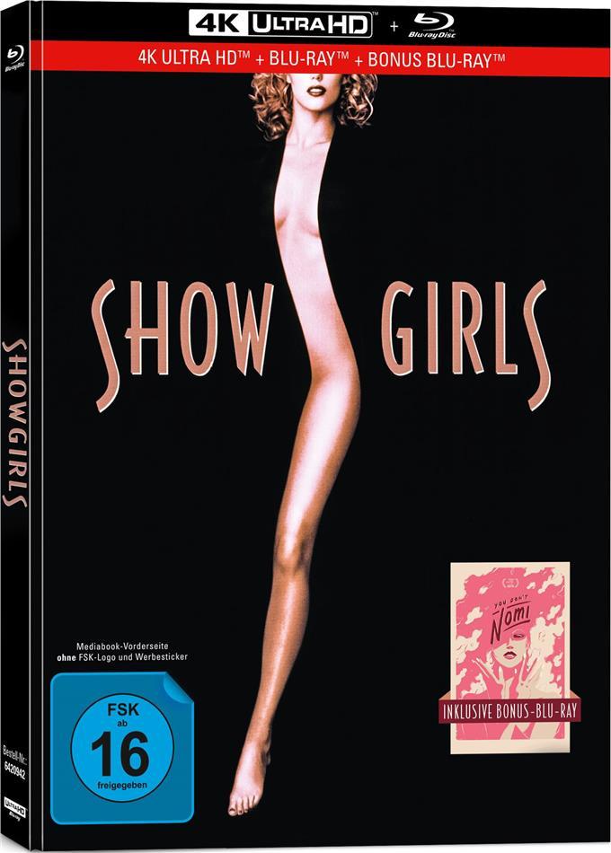 Showgirls (1995) (Limited Collector's Edition, Mediabook, 4K Ultra HD + 2 Blu-rays)