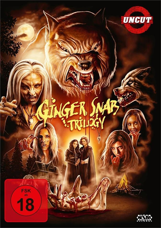 Ginger Snaps 1-3 - Trilogy (Uncut, 3 DVDs)