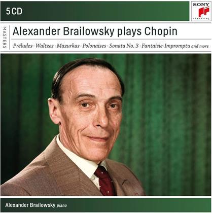 Alexander Brailowsky & Frédéric Chopin (1810-1849) - Alexander Brailowsky Plays Chopin (5 CDs)