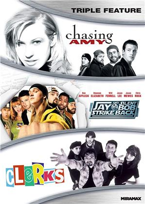Kevin Smith Triple Feature - Chasing Amy / Jay and Silent Bob Strike Back / Clerks (3 DVDs)