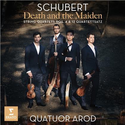 Quatuor Arod & Franz Schubert (1797-1828) - Der Tod und das Mädchen/Streichquartette Nr. 4&12