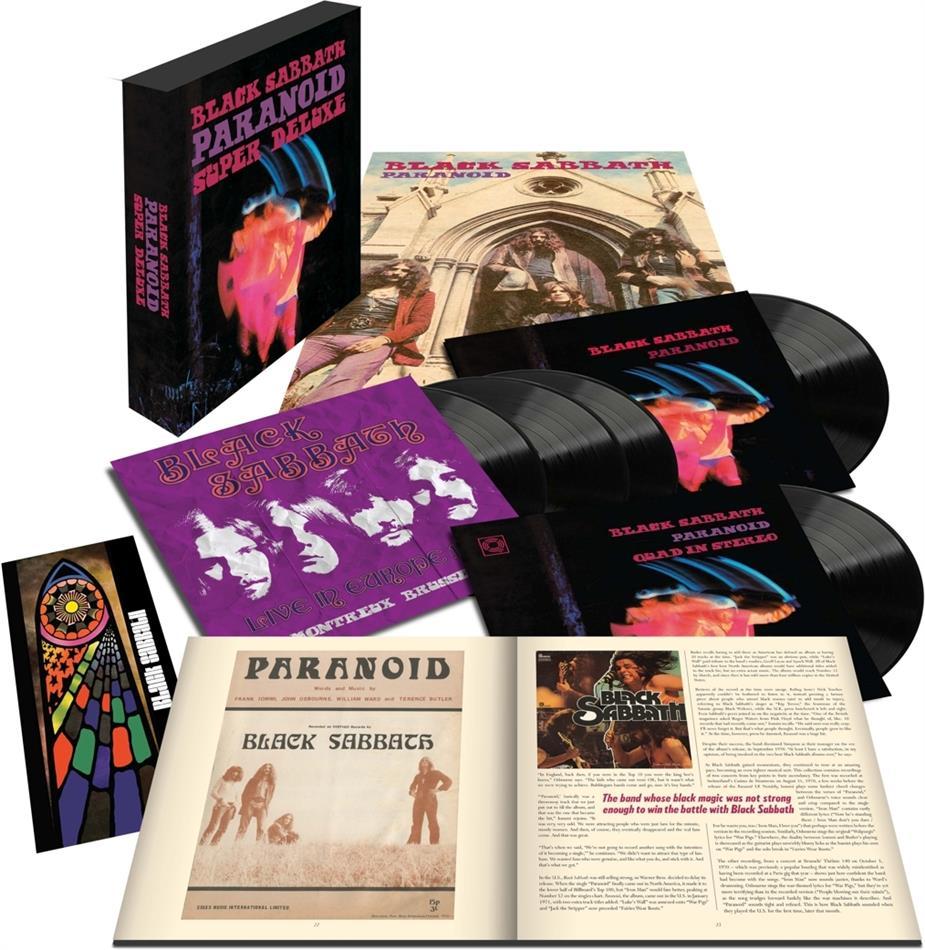 Black Sabbath - Paranoid (Deluxe Box Edition, 50th Anniversary Edition, 5 LPs)