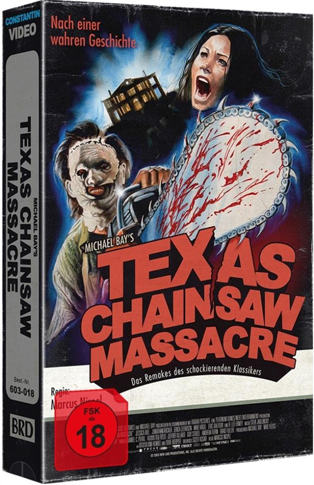 Texas Chainsaw Massacre (2003) (VHS Retro Edition, Tape Edition, Cover A, Limited Edition)