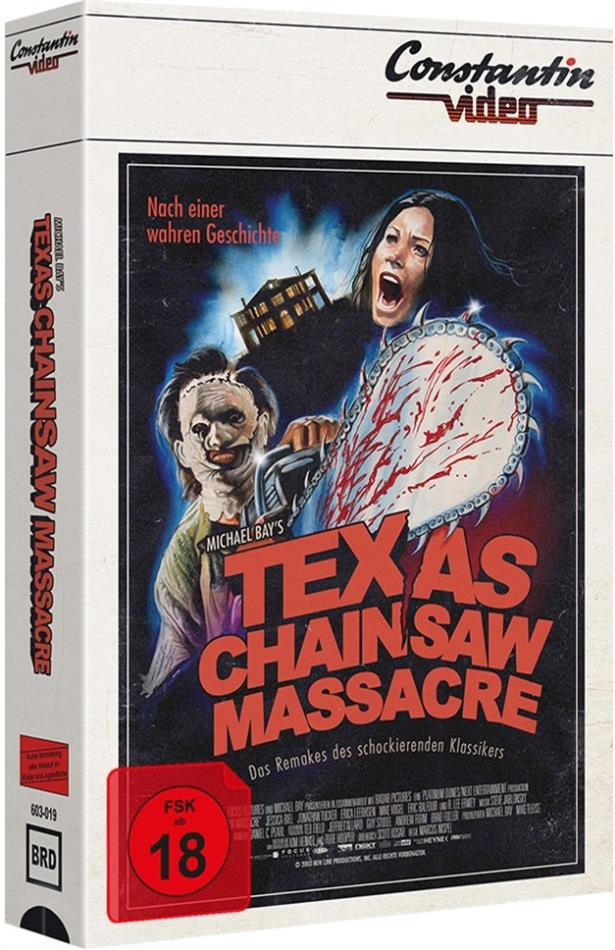 Texas Chainsaw Massacre (2003) (VHS Retro Edition, Tape Edition, Cover B, Limited Edition)