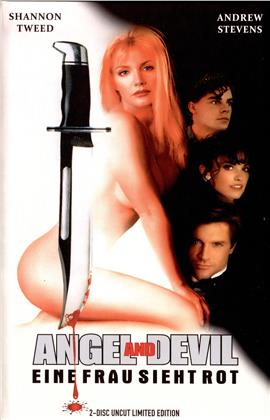 Angel and Devil - Eine Frau sieht rot - Hardcover (+ DVD) (Limited Edition, Blu-ray + DVD)