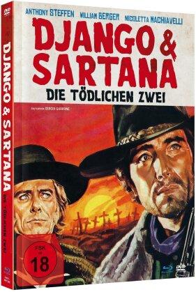 Django & Sartana - Die tödlichen Zwei (1970) (Limited Edition, Mediabook, Remastered, Uncut, Blu-ray + DVD)
