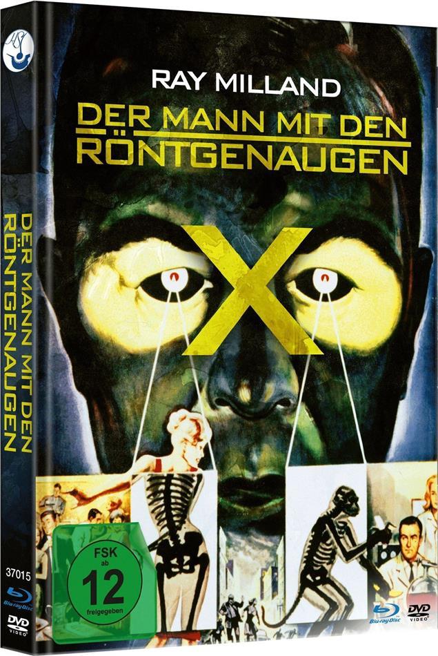 Der Mann mit den Röntgenaugen (1963) (Limited Edition, Mediabook, Blu-ray + DVD)