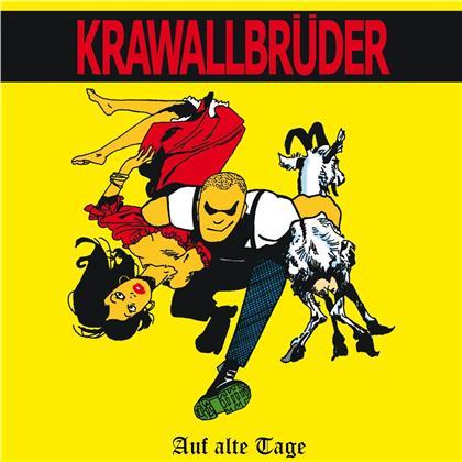 Krawallbrüder - Auf Alte Tage (2020 Reissue, Limited Edition, Red Vinyl, LP)