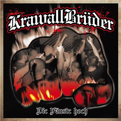 Krawallbrüder - Die Fäuste Hoch (2020 Reissue, Limited Edition, Black/White Marbled Vinyl, LP)