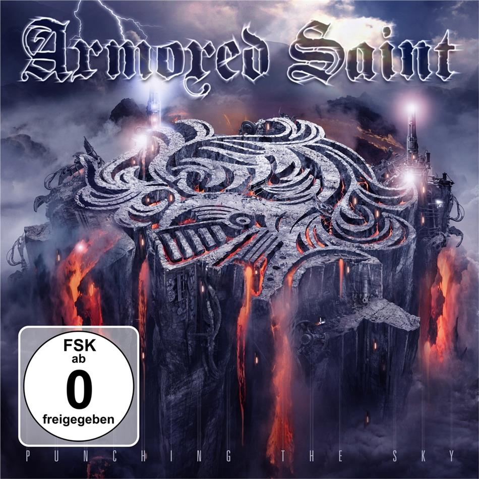 Armored Saint - Punching The Sky (Deluxe Edition, CD + DVD)