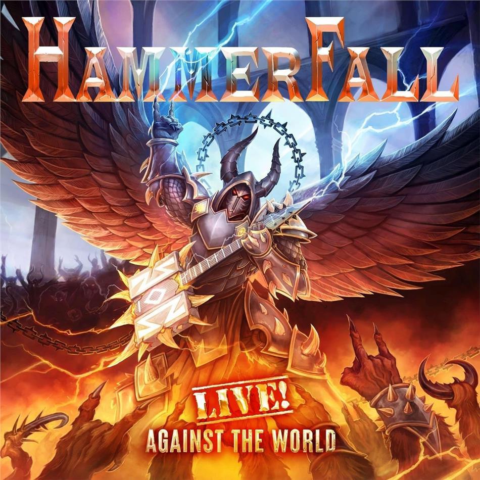 Hammerfall - Live! Against The World (2 CDs + Blu-ray)
