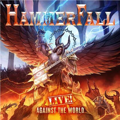 Hammerfall - Live! Against The World (Orange Vinyl, 3 LPs)