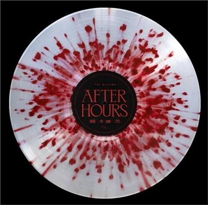 The Weeknd (R&B) - After Hours (Limited Edition, Clear Double White Red Splatter Vinyl, 2 LPs)