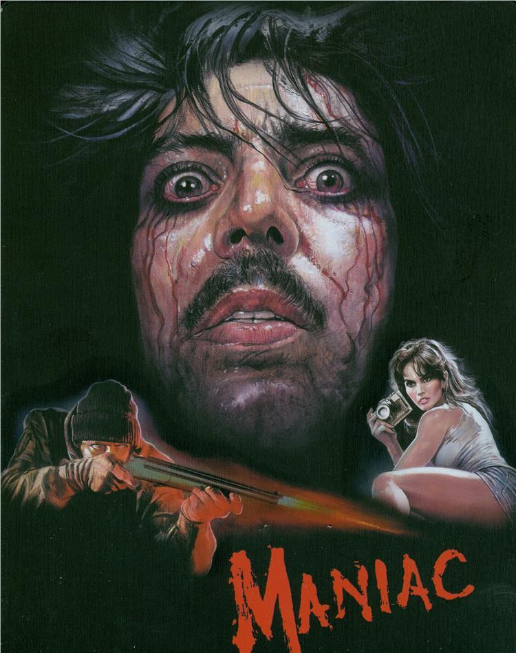 Maniac (1980) (Director's Cut, Limited Edition, Steelbook, Uncut, 3 Blu-rays)