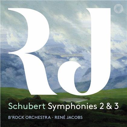B'Rock Orchestra & Rene Jacobs - Schubert Symphonies 2 & 3 (SACD)