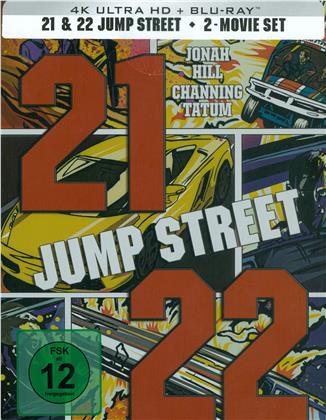 21 Jump Street & 22 Jump Street (Limited Edition, Steelbook, 2 4K Ultra HDs + 2 Blu-rays)