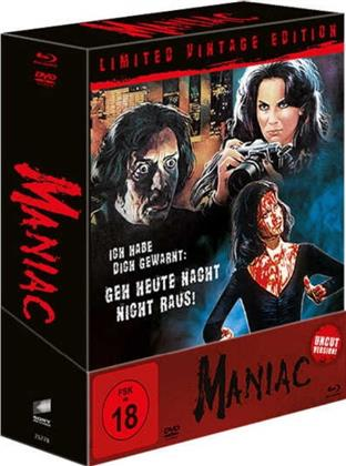 Maniac (1980) (Limited Vintage Edition, Director's Cut, Kinoversion, Uncut, 4 Blu-rays + DVD)