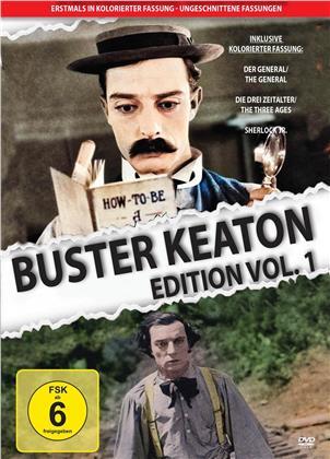 Buster Keaton Edition - Vol. 1 - Kolorierte Fassung (Uncut, 3 DVDs)