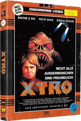 X-Tro (1982) (VHS-Edition, Limited Edition, Mediabook, Uncut, Blu-ray + DVD)