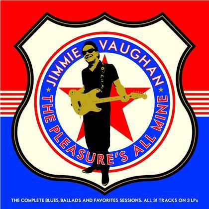Jimmie Vaughan - Pleasure's All Mine (3 LPs)