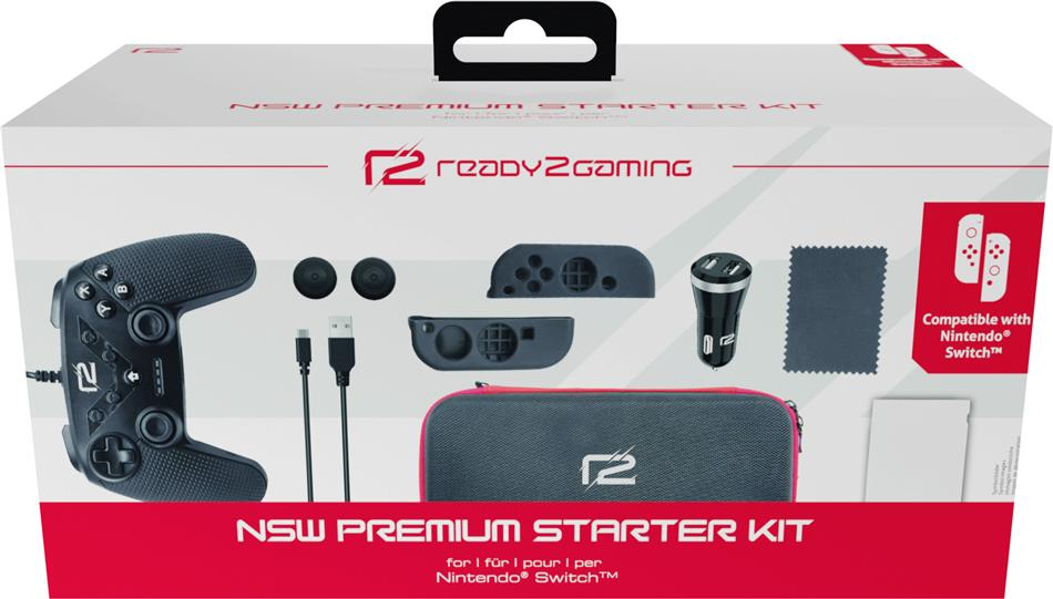 ready2gaming Nintendo Switch Premium Starter Kit