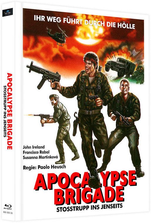 Apocalypse Brigade - Stosstrupp ins Jenseits (1968) (Cover B, Limited Edition, Mediabook, 2 Blu-rays)