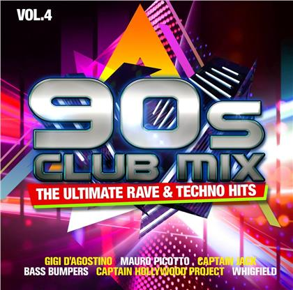 90S Club Mix Vol. 4 - The Ultimative Rave & Techno Hits (2CD) (2 CDs)