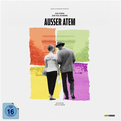 Ausser Atem (1960) (Vinyl Edition, Limited Edition, 4K Ultra HD + Blu-ray)