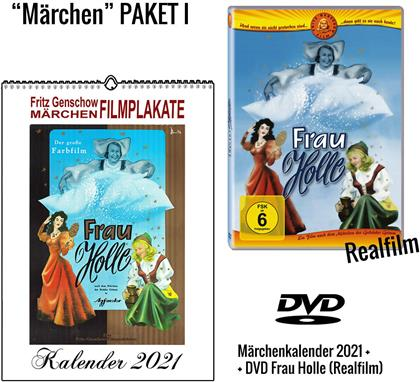 Frau Holle - + Märchenkalender 2021 (A4 Wandkalender) (1954)