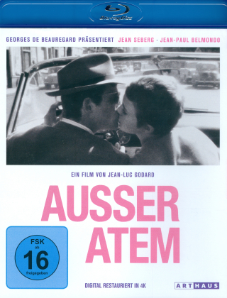 Ausser Atem (1960) (Arthaus, 60th Anniversary Edition, Restored)