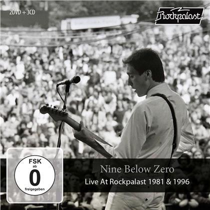 Nine Below Zero - Live At Rockpalast 1981 & 1996 (CD + DVD)