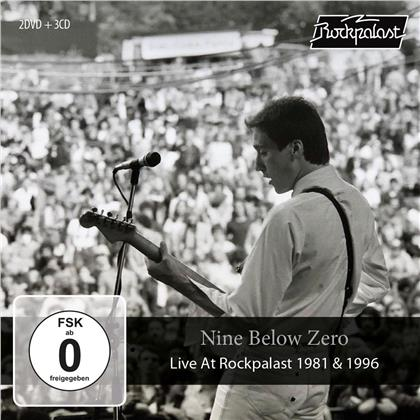 Nine Below Zero - Live At Rockpalast 1981 & 1996 (CD + DVD)