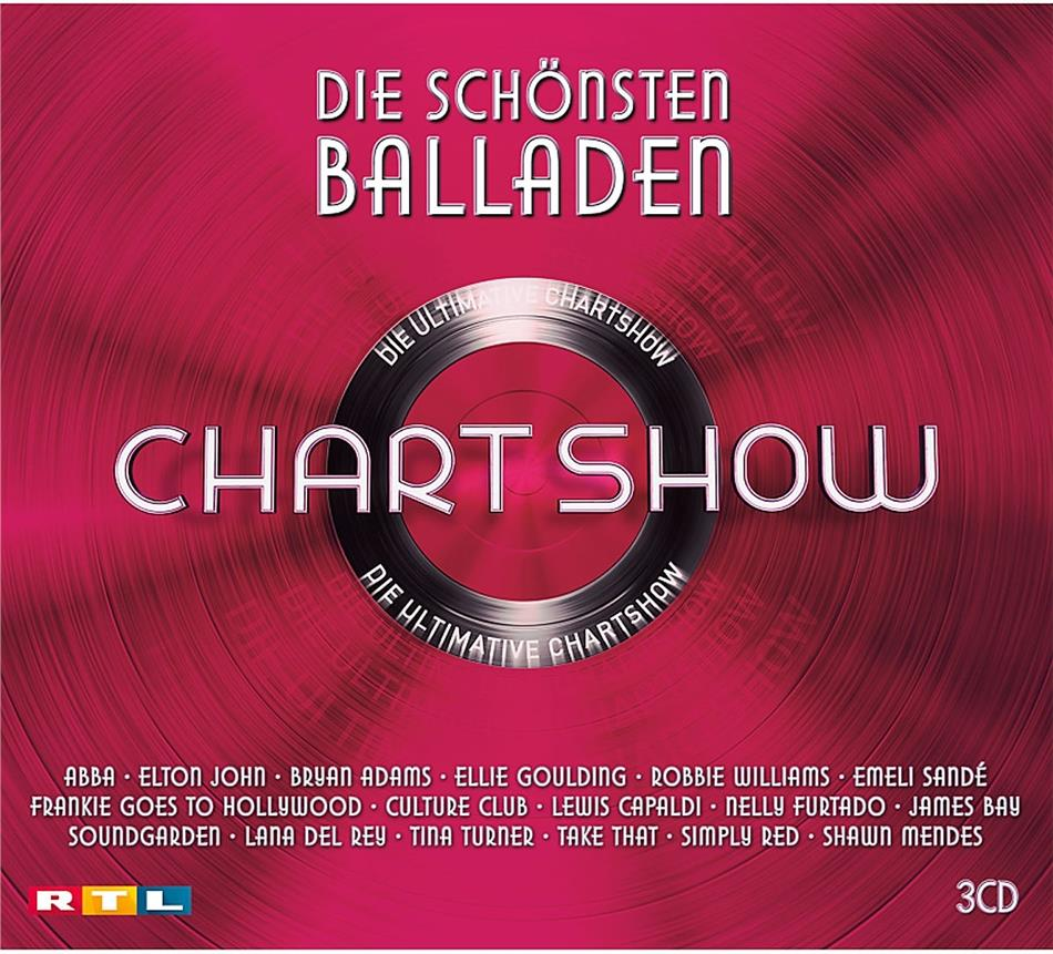 Die Ultimative Chartshow - Die Schönsten Balladen (3 CDs)