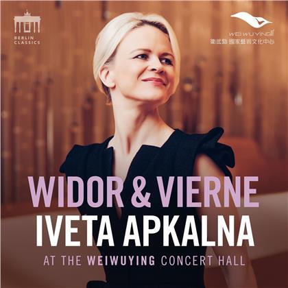 Iveta Apkalna, Charles-Marie Widor (1844-1937), Louis Vierne (1870-1937) & Johann Sebastian Bach (1685-1750) - Widor&Vierne&Bach