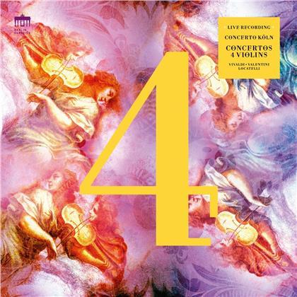 Concerto Köln - Concertos 4 Violins (2 LPs)
