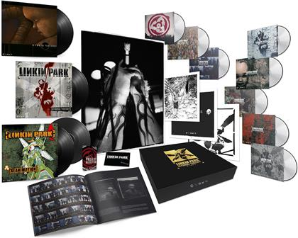 Linkin Park - Hybrid Theory (Boxset, 2020 Reissue, 20th Anniversary Edition, 4 LPs + 3 DVDs + 5 CDs + Audiokassette)