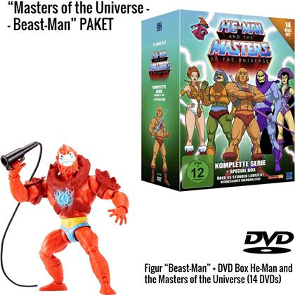 He-Man and the Masters of the Universe - Die komplette Serie + Beast Man Figur (Limited Edition, 14 DVDs)