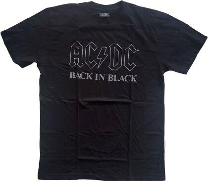 AC/DC Unisex T-Shirt - Back In Black