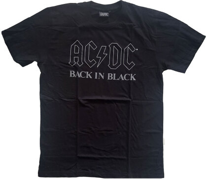 AC/DC Unisex Tee - Back In Black