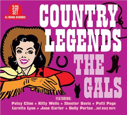 Country Legends - The Gals (3 CDs)